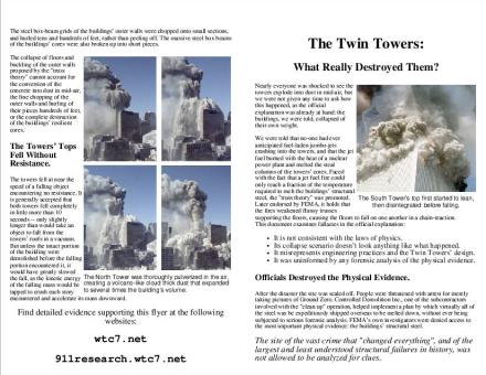 twin towers thesis